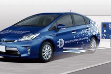Toyota Mulai Tes Pengisian Baterai Nirkabel