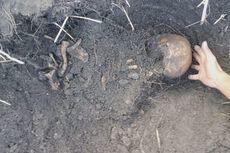 Makam Leluhur Suku Tidung Diduga Dirusak Penambang Pasir, Tulang Dibiarkan Berserakan