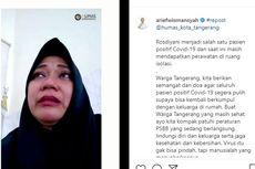 Pesan dari Pasien Covid-19 di Tangerang: Jangan Sampai Selanjutnya Kalian...