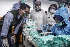 Stok di Jabar Belum Aman, Ridwan Kamil Minta Pabrik Tak Ekspor Masker