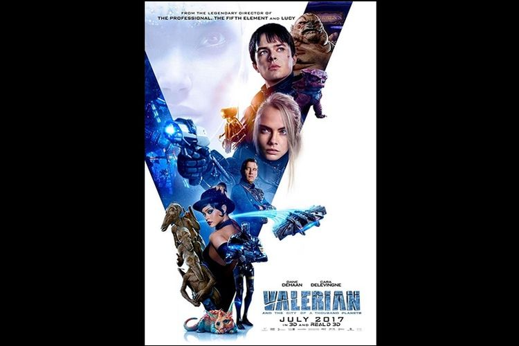 Sinopsis film Valerian and The City of a Thousand Planets.