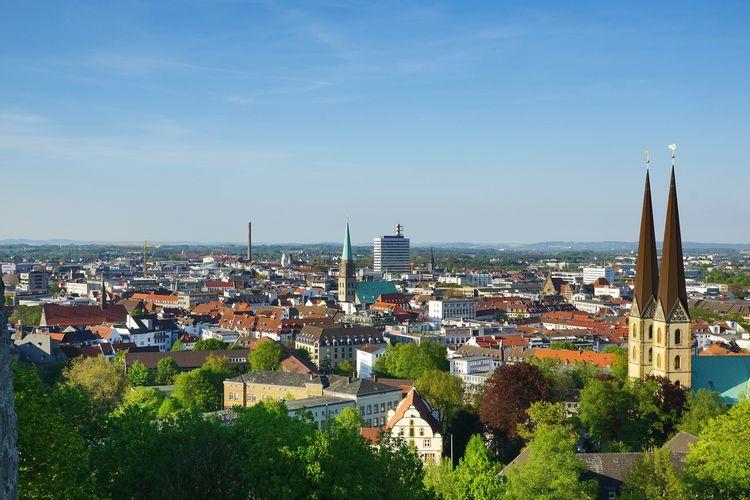 Kota Bielefeld di Jerman.
