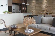 Batu Alam Bikin Interior Apartemen 50 Meter Persegi Lebih Cozy
