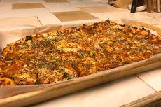 Menikmati Pizza Sayuran di Tengah Hutan Taiwan, Sedapnya...