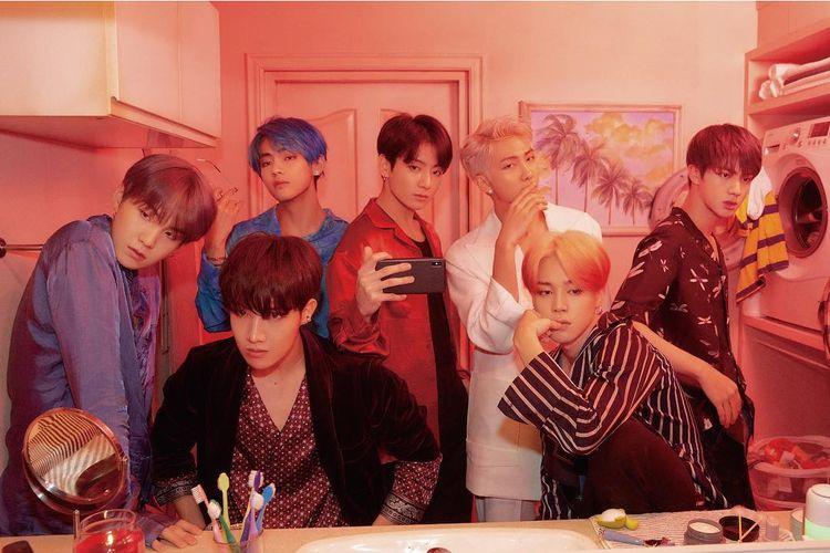 Boyband K-pop bentukan Big Hit Entertainment, BTS.