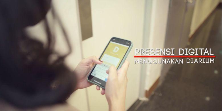 Presensi Digital Aplikasi Diarium Telkom
