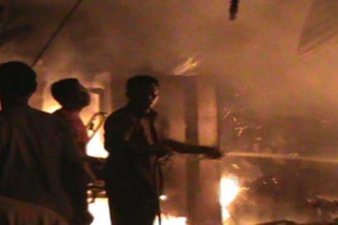 Minimarket di Cikupa Terbakar, Tiga Unit Pemadam Kebakaran Dikerahkan