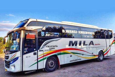 Bus Patas Akas Mila Sejahtera, Uji Coba Rute Banyuwangi-Yogyakarta