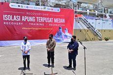 Erick Thohir Bareng Budi Karya Tinjau Layanan Isolasi di Kapal Pelni
