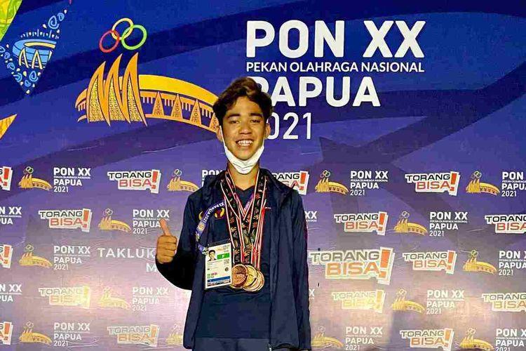 Pangeran Dirgantara Pribaya meraih 5 medali pada ajang PON XX Papua.