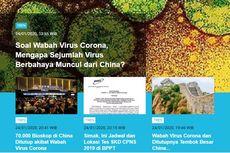 [POPULER TREN] Virus Corona di China   BMKG Warning Hujan Lebat