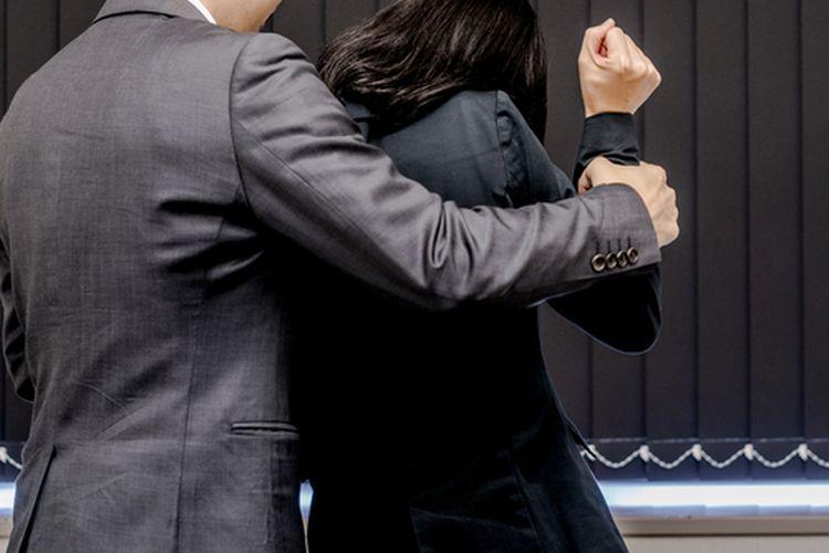 Ilustrasi pelecehan seksual.
