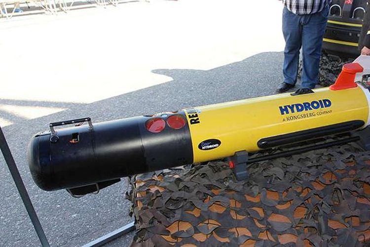 Drone bawah laut Remus 100 seperti yang ditemukan oleh David Haas