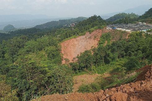 PVMBG Sebut Potensi Gerakan Tanah di Kecamatan Sukajaya Bogor Tinggi