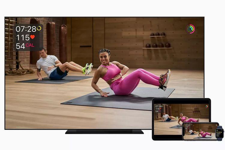 Apple memperkenalkan layanan olahraga virtual Apple Fitness Plus