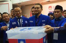 Hanafi Rais Pimpin Rombongan PAN Daftar Pemilu 2019