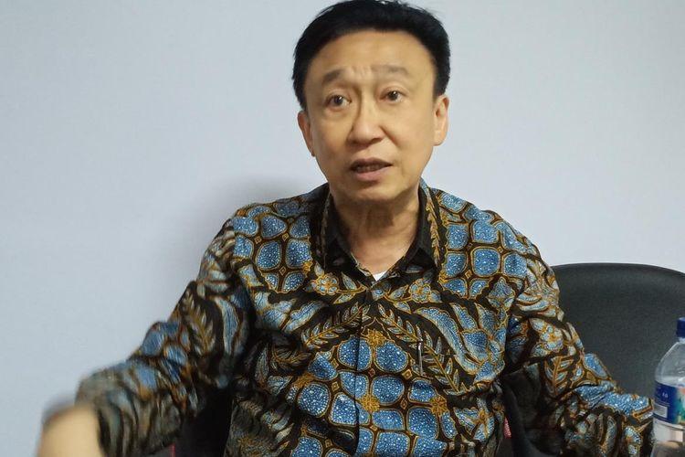 Mantan Direktur Utama Bank Bali, Rudy Ramli.