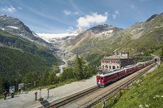 Panoramic Train di Swiss, Kereta yang Lintasi Jalur Terindah di Dunia