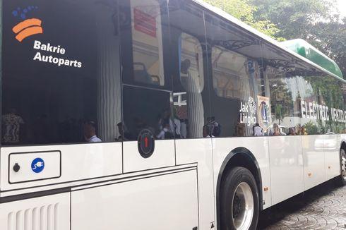 Mau Lihat Bus Listrik? Temukan di Monas hingga Area CFD