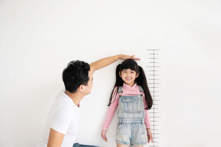 Ilustrasi tinggi anak
