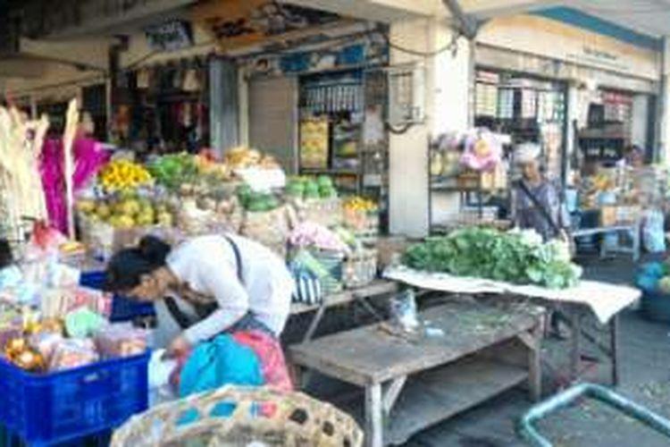 Pasar Kreneng Denpasar.