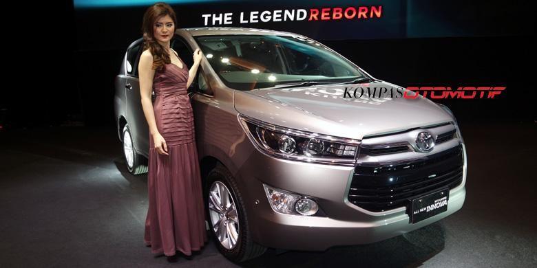 Toyota All-New Kijang Innova mendebut di Jakarta, Senin (23/11/2015).