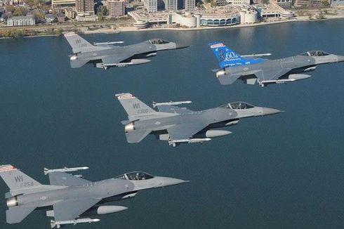 AS Tunda Kirim Jet Tempur F-16 ke Mesir
