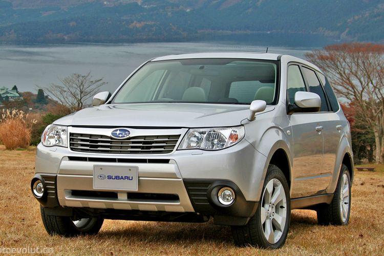 Ilustrasi Subaru Forester 2.0 2012