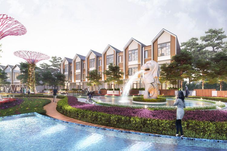 PT Yiho Jakarta Real Estate Development, anak perusahaan dari New Yi-Ho Holding Group Co. Ltd mengembangkan Sentosa Park di Tangerang