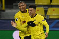 Dortmund Vs Club Brugge, Jadon Sancho Tiru Pencapaian David Beckham