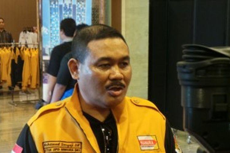 Ketua DPD Partai Hanura DKI Jakarta Mohamad Sangaji