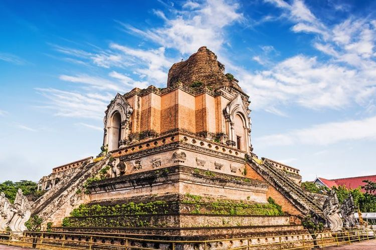 Chiang May Old City, Thailand DOK. Shutterstock