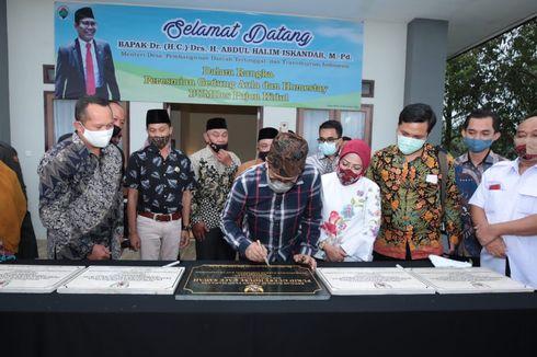 Resmikan Guest House di Kabupaten Malang, Gus Menteri Persilakan BUMDes Punya Unit Usaha Banyak