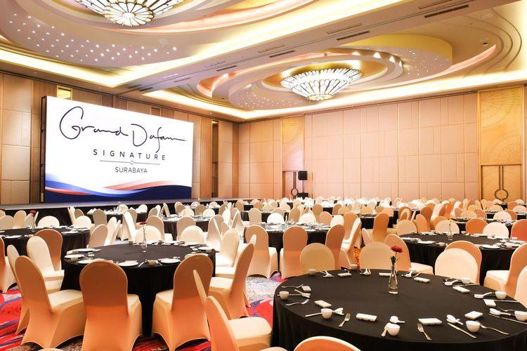 Ballroom Grand Dafam Surabaya.