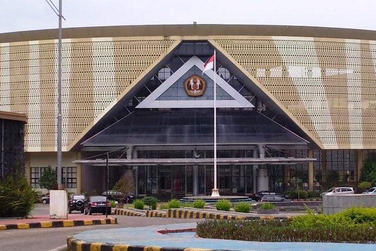 Gedung Rektorat Universitas Padjadjaran di Jatinangor, Sumedang.