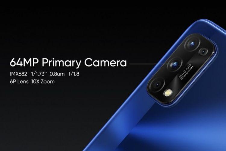 Spesifikasi kamera utama pada Realme 7