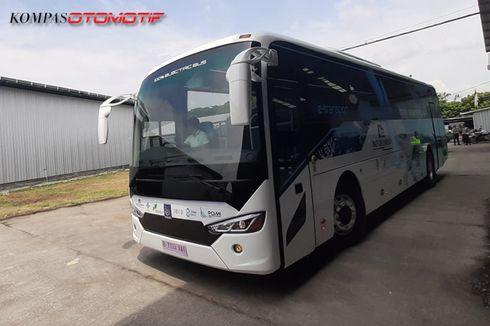 Harga Bus Listrik MAB Buatan Demak Tembus Rp 4,5 Miliar