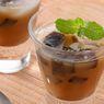 Resep Es Coklat Cincau, Tambah Kelapa Muda Serut Lebih Segar