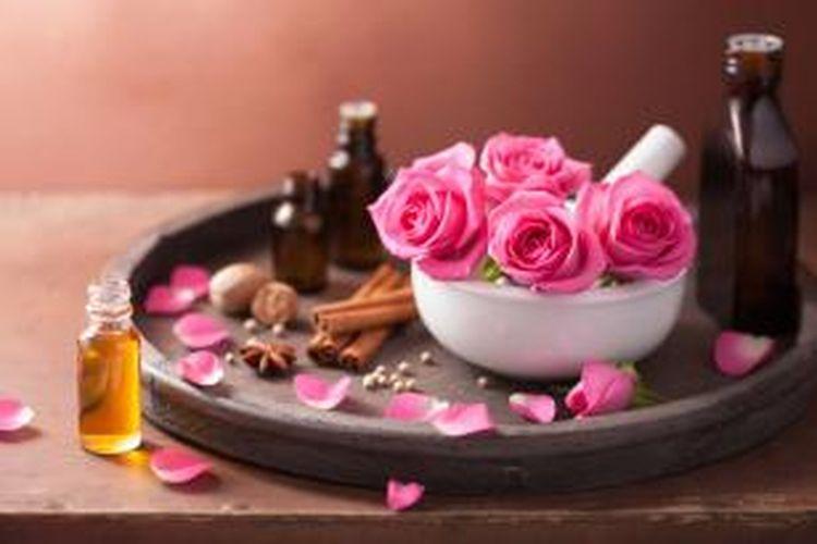 Ilustrasi aromaterapi