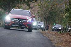 Mercedes-Benz GLA 200 AMG Line Blusukan di Yogyakarta