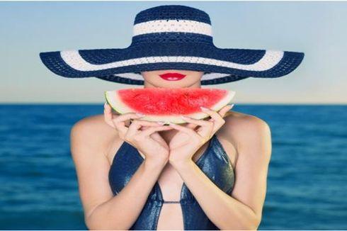 Buah Semangka Simpan Sejumlah Khasiat untuk Kecantikan Wanita