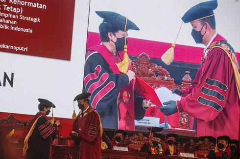 Dikukuhkan sebagai Profesor Kehormatan Unhan, Megawati Bicara soal Kepemimpinan Strategis