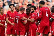 Hasil Liverpool vs Crystal Palace - Sadio Mane Cetak Gol ke-100, The Reds Menang Telak