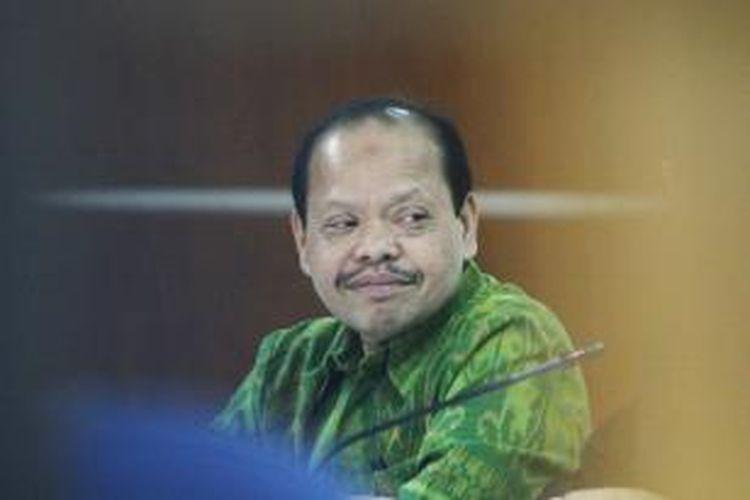 Mantan Ketua Komisi VII DPR Sutan Bhatoegana kembali menjalani persidangan di Pengadilan Tipikor, Jakarta Selatan, terkait perkara dugaan penerimaan hadiah atau janji dalam pembahasan APBN-P 2013 Kementerian ESDM, Kamis (21/5/2015). Siidang lanjutan ini mengagendakan mendengarkan keterangan saksi termasuk mantan Sekjen Kementerian ESDM, Waryono Karno.