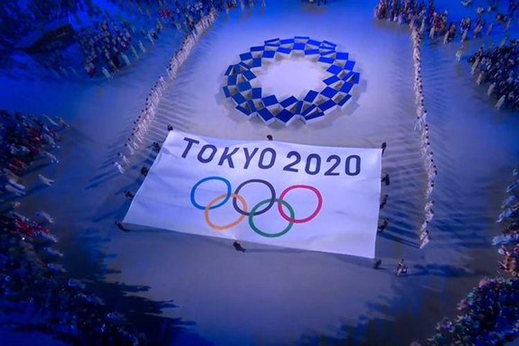Pembukaan Olimpiade Tokyo 2020 Dok. Twitter.com/Tokyo2020