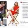 Drew Barrymore Pun Menangis karena Masalah Berat Badan