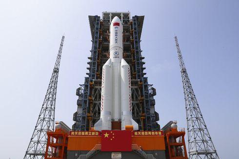 Roket Long March 5B China Jatuh Tanpa Kendali, Akan Masuk Atmosfer Bumi Minggu Ini