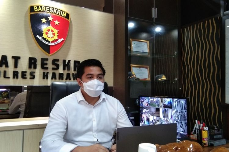 Kasat Reskrim Polres Karawang AKP Oliestha Ageng Wicaksana