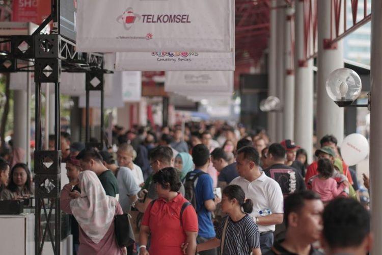 Ada beberapa faktor yang menentukan penjualan di Telkomsel IIMS 2019.