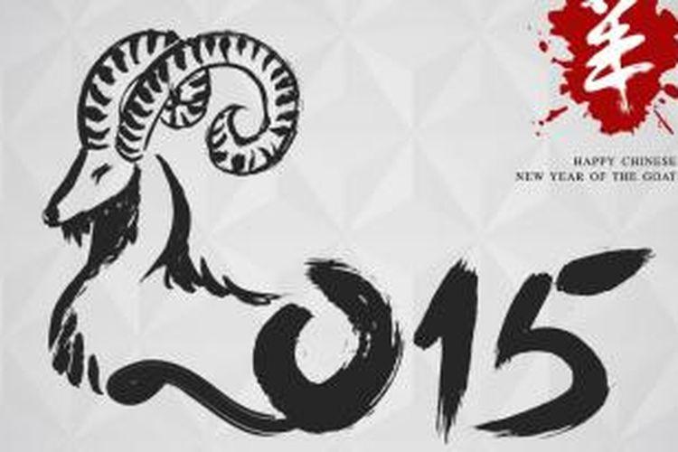 Kambing adalah elemen Tanah sehingga 2015 akan didominasi oleh hubungan Tanah dan Kayu (Yin). Sesuai siklus distruktif, Kayu akan menghancurkan Tanah.